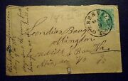 Historic Civil War Cover With 1 Stamp Used Andrew Johnson Home Town And Friend
