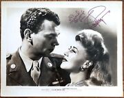 Ginger Rogers 1945 Original Bw Still 8x10 Authentic Autograph Psa/dna With Coa