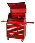 Extreme Tools Pwsrc4129txrd 41 Extreme Workstation And Roller Tool Cabinet Red