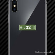 2x .32 Ammo Can Cell Phone Sticker Mobile Set Classic Edition Bullet 32