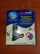 Genuine Moen Home Care Secure Mount Anchor Pair. New In Box, Sma1000ch