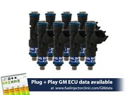 Fic 775cc Chevy Gm Ls2 Engines Fuel Injector Clinic Injector Set Is302-0775h