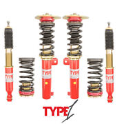 Function And Form Type 1 One Coilovers Adjustable For Audi A4 2002-2008 B6/b7