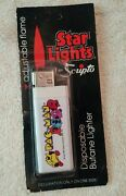 Brand New 1980 Vintage Pac Man Lighter White With Pac Man And Ghosts Rare