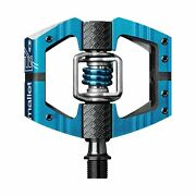 Crank Brothers Mallet E Bike Pedals Enduro Ride And Race - Blue - New