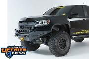 Add F357382720103 Honeybadger Winch Front Bumper For 2015-21 Gm Colorado/canyon