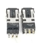Lot Of 2 Micro Switch Aml-20 Series Toggle Switches Aml 259a9823p103