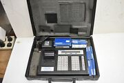 Thomas And Betts E-z Code Wire Marker Printer Wd-25p W/ Marker Roll + Cart Ribbons