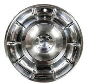 1956-1958 Corvette Wheel Covers/hubcaps No Spinners - Set Of 4 - New