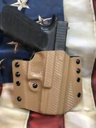 Pancake Owb Carbon Fiber Kydex Holster For Sig Sauer P250 Series By 1441 Gear