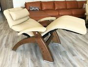 Human Touch Pc-420 Classic Plus Zero Gravity Perfect Chair Recliner Sand Leather