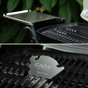 Bbq Stainless Steel Side Tables To Suit Weber Baby Q + Scraper Tool