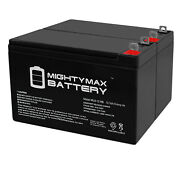 Mighty Max 12v 9ah Sla Battery Replaces Interstate Asla1069 Generator - 2 Pack