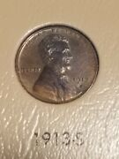 1913-s Lincoln Cent Wheat Penny, Choice-gem Uncirculated Better Date