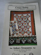 Crazy Daisy Quilt Pattern Wall Quilt Table Runner Valance 48 X 60 18 X 35