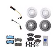 Front And Rear Disc Brake Rotors Pads Sensors Kit Genuine For Mercedes X166 C292