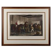 Foreandrsquos Stable Scenes Thouroughbred Horses London 1844