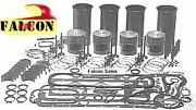 Ford Tractor 256 Gas Engine Kit 6600 5000 Pistons