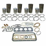 8n 9n 2n Ford Tractor Premium Engine Kit 090 Sleeves Bearings Valves Gaskets+