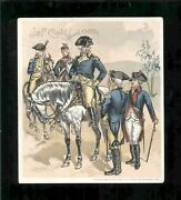 1895 Jandp Coats Best Six Cord Thread Unites States Army Vintage Trade Card