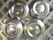 Vintage 1952 1953 1954 Ford Dog Dish Hubcaps Wheel Covers Center Caps Fomoco