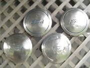 Ford Super Delux Coupe Sedan Pilot Roadster Pickup Truck Hubcaps Wheel Covers