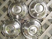Plymouth Dodge Chrysler Police Dogdish Hubcaps Wheel Covers Charger Mopar Rims