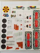 Vintage Star Wars Millennium Falcon Replacement Toy Stickers Peel And Stick