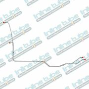 67-72 Chevy C10 C20 Gmc C15 Truck Trans Transmission Cooler Lines Set Stainless