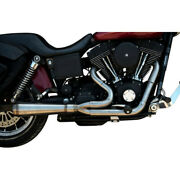 Trask Stainless Steel Assault Series 2-1 2 Into 1 Exhaust Harley Dyna 91-05 Fxd