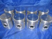8 Pistons And Rings 1937-1948 Cadillac 346 V8 New 37 38 39 40 41 42 46 47 48