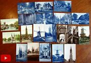 Delft Holland Netherlands Old Postcards C.1920-30's Lot X 20 Real Photos