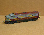 Atlas/roco Ho Canadian Pacific Fp7 4066 Very Good Condition Smooth Runner Dc