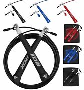 Rdx Skipping Speed Rope Jumping Fitness Exercise Gym Training Yoga Ca