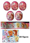 New 6 Disney Palace Pets Plastic Surprise Eggs With Toy Figure In Each Egg