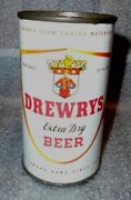 Old Drewrys Flat Top Beer Can Ex Gerard Collection