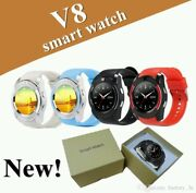 3x Smart Watch's Mobile Phone Watches Sports Fitness Tracker Bluetooth Hd Camera