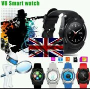 4x Smart Watch Mobile Phone Watches Sports Fitness Tracker Bluetooth Hd Camera