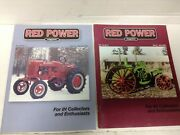2 Magazines Volume 16 Red Power Magazine Back Issues 2002 Ih Collectors Tractor