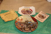 Ringling Brothers Barnum And Bailey Circus Elephants Wonder Collectors Plate 68