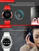 2x Smart Watch's Mobile Phone Watches Sports Fitness Tracker Bluetooth Camera