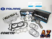 Polaris Rzr Xp Turbo Cylinder 93mm Cp 9.5 Pistons Carrillo Rods Cometic Gaskets
