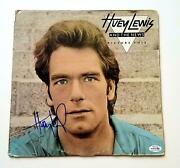 Huey Lewis And The News Autographed Signed Album Cover Lp Acoa