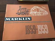 Marklin Ho Trains And Toys Catalog 1959 Full Color Written In English
