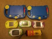 Leapfrog/leapster Lot Tested And Untested Handhelds Games Books Pen And More