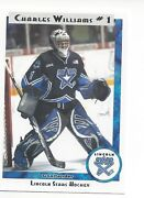 2011-12 Lincoln Stars Ushl Series 2 Charles Williams Indy Fuel