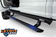 Amp 77151-01a Blk Powder Coated Powerstep Xl Running Boards For 15-19 Ford F-150