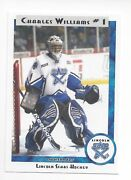 2011-12 Lincoln Stars Ushl Charles Williams Indy Fuel