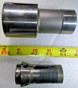 Brown And Sharpe Bs 11c Collet Chuck Adapter And Hardinge 11c 3/4 Diameter Collet