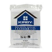 12 Kirby Vacuum Cleaner Bags F Style Universal Genuine Micron Magic Hepa Cloth